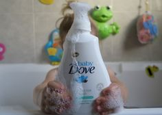 Protecting Delicate Skin with Baby Dove | Review | Emily and Indiana