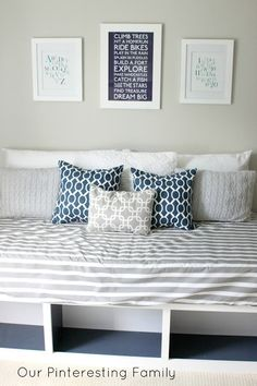 Project Nursery - DIY Pottery Barn Inspired Day Bed