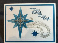 Stampin Up! Star of LIght
