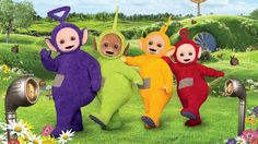2. My favourite childhood memory is watching teletubbies all day.