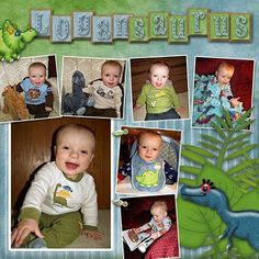 Happenings: Jurscrappic Park Kit by Kathryn Estry