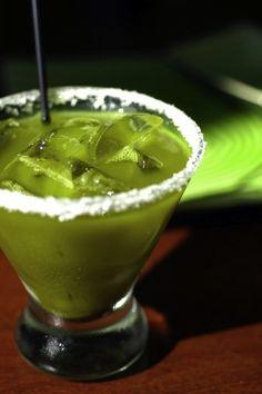 Margarita de té verde | 29 margaritas de locos que necesitas probar