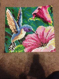 Hummingbird Perler Hama Beads