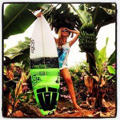 "surfing-girls: ""Surfing Girl , Follow me at : http://surfing-girls.tumblr.com/ """