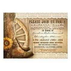 Wanted! Western Wedding Invitation Free Template printableinvitati ...