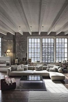 Modern but cozy
