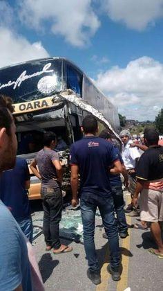 Blog Paulo Benjeri Notícias: Trágico acidente com ônibus da banda Super Oara ma...