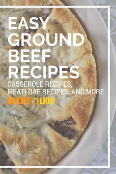 You can never have too many easy ground beef recipes on hand! (Especially when they're also easy casserole recipes!)