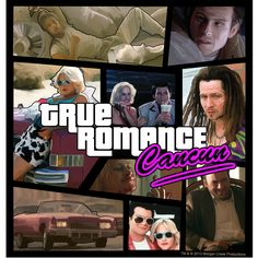 True Romance, Romance Movies, Grand Theft Auto, Movie Posters, Fictional Characters, Design, Romantic Movies, Film Poster