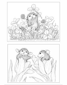 House-Mouse Designs® A House-Mouse® Colouring Book - UK Edition - Volume 2