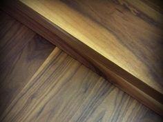 American Black Walnut engineered flooring. British bespoke manufacturer.