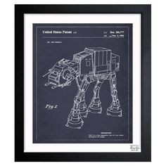 Walking Robot Framed Print at Joss & Main