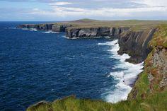 Cliffs at Slea Head Loop Lighthouse, Ireland