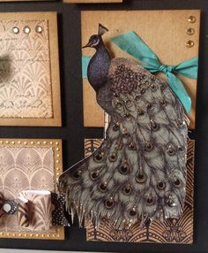 Craftwork Cards Vogue Collection.  Picture designed by   Julie Hickey