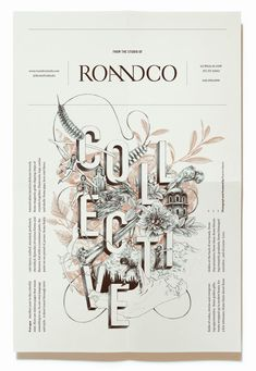 This press kit was designed to showcase the 5 rules RoAndCo follows when approaching design solutions. It showcased a heterogeneous collection of items — each reflecting the company's philosophies — that created an alluring collective collage.