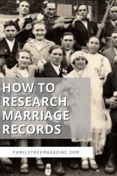 At Family Tree Magazine we like to shine a light on the most important sources for your genealogical research, and marriage records rank right up there at the top of the list. In this episode, Lisa is joined by Amanda Epperson to discuss how and why to research marriage records. Plus, our DNA expert is back to explain why you should upload your tree to your DNA test results. Dna Test Results, Marriage Records, Genealogy Research, You Lied, Explain Why, Foundation, How To Plan, Foundation Series