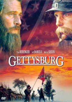 Gettysburg 1993 - Tom Berenger as Longstreet, Martin Sheen as Lee, Richard Jordan as Armistad, Jeff Daniels as Chamberlain.  A moving drama about how and why the Civil War was fought.