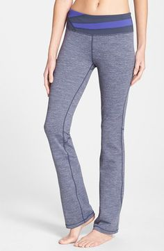 Free shipping and returns on Zella 'Barely Flare Booty' Pants at Nordstrom.com. Updated with subtly flared hems, favorite fitness pants create a leg-lengthening silhouette that looks great in any gym mirror. Cut from moisture-wicking, four-way stretch fabric, the style works out as well as it relaxes with friends.