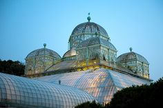 The Royal Greenhouses of Laeken (Dutch: Koninklijke Serres van Laken, French: Serres Royales de Laeken),