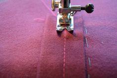 How to sew a welt pocket. Welt Pockets Tutorial - Step 4