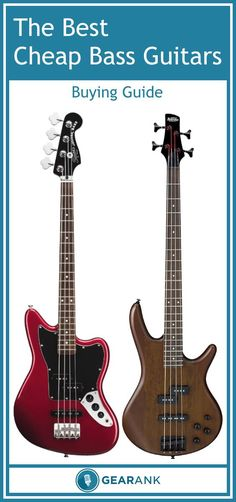 A guide to the best budget bass guitars ranging from $180 to $300. Includes advice on what to look for when buying a new bass guitar.