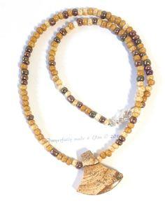 Picture Jasper chocker Necklace Women's by PrayerfullyMade4You