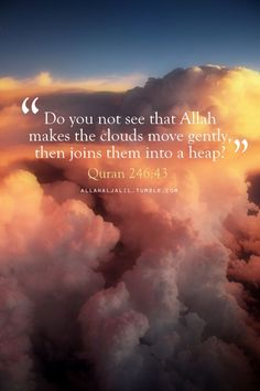 The things we see as most simple have the biggest signs in them subhan'Allah.