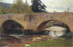 The Bridge in Labastide du Vert - Henri Martin