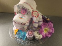 Girl diaper carriage