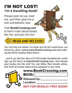 cool BookCrossing label Pick Me Up, Give It To Me, Book Cafe, Music Tv, Book Authors, Knowing You, Books To Read, Literature, Label