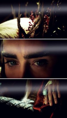 Thranduil. Seriously loved this part and how they revealed him. SO EPIC