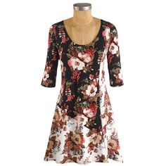 Mix-It-Up Floral Tunic Top