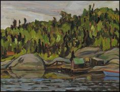 Jackson - Fishing Stacks Wawa Ontario x Oil on board Impressionist Landscape, Landscape Art, Landscape Paintings, Oil Paintings, Group Of Seven Art, Group Of Seven Paintings, Canadian Painters, Canadian Artists, Tom Thomson Paintings