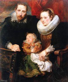 Anthony van Dyck (1599–1641) Family Portrait 1621