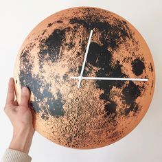 I really love our copper moon clock with white hands! ♥️