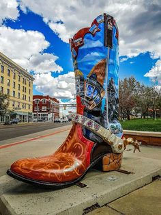 If a long day of wandering round Cheyenne, chatting to the local animals  and posing next to massive boots wasn't enough, you can end your night by  getting ...