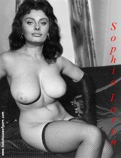 Loren figure sophia hourglass