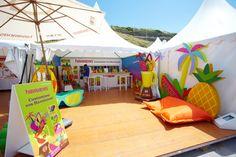 havaianas myoh big festival biarritz 2011 by bruno augusto ramos company, via Behance