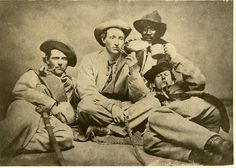 Photograph of Members of the 57 Georgia Regiment. GCSU Library Special Collections via Flickr.
