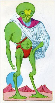 Edd Cartier - Travelers of Space (Gnome Press 1951) 5 by Aeron Alfrey, via Flickr