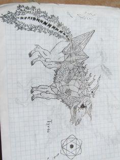 diseño de monstruos