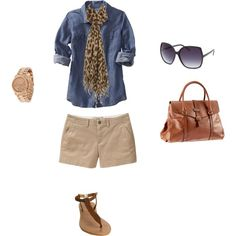 Casual and Cute, created by rileylynn112.polyvore.com