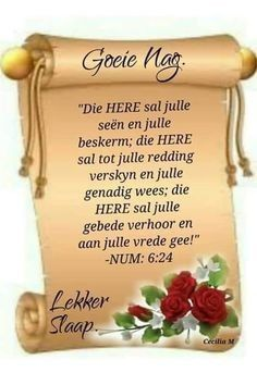 Good Night Blessings, Morning Blessings, Prayer Quotes, Spiritual Quotes, Evening Quotes, Afrikaanse Quotes, Goeie Nag, Goeie More, Quality Quotes