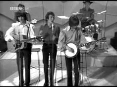 Today 8-17 in 1966 The Hollies were in the recording studio dropping the tracks for - 'Stop Stop Stop' - note this is early footage of the original Hollies and that's Graham Nash (a founding member with Tony Hicks - lead vocalist) of the group on guitar!