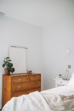 Our New Bedroom | Joy Felicity Jane | all white, serene bedroom, scandinavian style