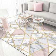 3D Carpet Stone Printed Soft Flannel Large Carpet for Rooms Mats in The Hallway Antislip Kitchen Mat Big Floor Rugs Size : 6090cm