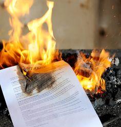 mortgage burn