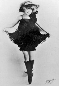 June Havoc as Dainty June in her vaudeville days.