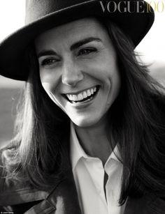 Kate Middleton na Capa da Vogue Inglesa