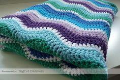 Ripple Blanket Crochet Pattern from Attic24 @ http://attic24.typepad.com/weblog/neat-ripple-pattern.html    Can't wait to try it!